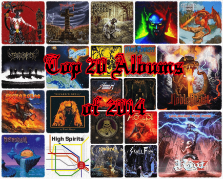 Top 20 Full-Length Metal Albums of 2014