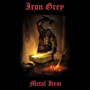 Iron Grey (Bel) – Metal Item (1984)